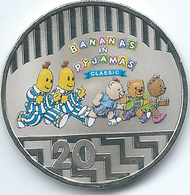 Australia - Elizabeth II - 20 Cents - 2017 -25th Anniversary Of Bananas In Pyjamas - Only 30,000 Minted - Decimal Coinage (1966-...)