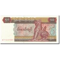 Billet, Myanmar, 50 Kyats, KM:73b, NEUF - Myanmar