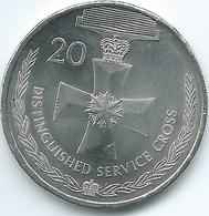 Australia - Elizabeth II - 20 Cents - 2017 - Distinguished Service Cross - Monnaie Décimale (1966-...)
