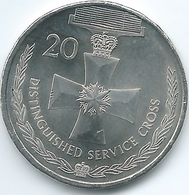 Australia - Elizabeth II - 20 Cents - 2017 - Distinguished Service Cross - Decimal Coinage (1966-...)