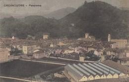 CREVACUORE-BIELLA-PANORAMA-CARTOLINA VIAGGIATA IL 18-2-1912 - Biella