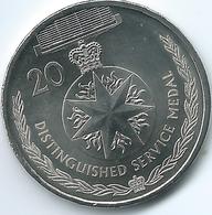 Australia - Elizabeth II - 20 Cents - 2017 - Distinguished Service Medal - Monnaie Décimale (1966-...)