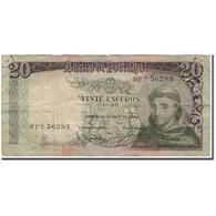 Billet, Portugal, 20 Escudos, 1964-05-26, KM:167a, B+ - Portugal