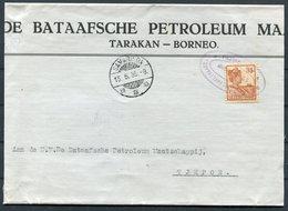 1935 Ned. Indie Tarakan Borneo Bataafsche Petroleum (large Part) Cover Paketvaart Paquebot Samarinda Tjepoh - Netherlands Indies