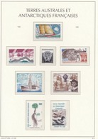 TAAF - 1990-91-92 Années Complètes Neufs MNH, Valeur Faciale Poste + P.A. - French Antarctic Territories 1990-92 - French Southern And Antarctic Territories (TAAF)