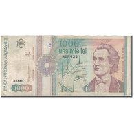 Billet, Roumanie, 1000 Lei, 1991, KM:101Aa, B+ - Roumanie