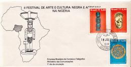 Brazil Set On FDC - Art