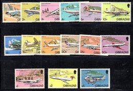 CI1049 - GIBILTERRA 1982 ,  Serie Unificato N. 439/453  ***  (2380A) . - Gibilterra