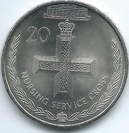 Australia - Elizabeth II - 20 Cents - 2017 - Nursing Service Cross - Decimal Coinage (1966-...)