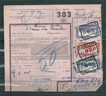 Fragment Met Stempel Deerlijk - 1942-1951