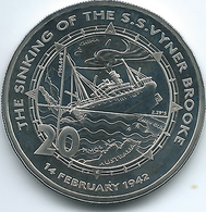 Australia - Elizabeth II - 20 Cents - 2017 - Sinking Of SS Vyner Brooke - Monnaie Décimale (1966-...)