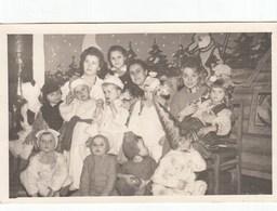 UKRAINE. #1548  A PHOTO. NEW YEAR. SADIK, CHILDREN. CARNIVAL COSTUMES, A BEAUTIFUL EDUCATOR. *** - Film Projectors
