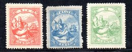 APR257 - LIBERIA 1867 , Serie Yvert N. 7/9  Nuova Senza Gomma   (2380A) . - Liberia