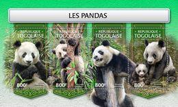 TOGO 2018 - Pandas - Mi 8946-9 - Stamps