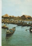 C.P. - PHOTO - GANVIE - VILLAGE LACUSTRE - GASTON NEGRE - RENE MOSER - DELROISSE - - Benin