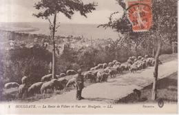 Houlgate La Route De Villers 1915 - Houlgate
