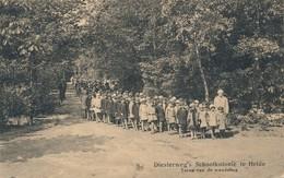 CPA - Belgique - Diesterweg's - Schoolkolonie Te Heide - Kalmthout