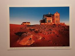 Namibia, Kolmanskop (gelaufen 2002, Deutschland),  H21 - Namibia