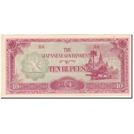 Billet, Birmanie, 10 Rupees, KM:16a, SPL - Myanmar