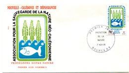 Nouvelle Calédonie - FDC Yvert 452 Protection De La Nature - X 997 - FDC