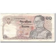 Billet, Thaïlande, 10 Baht, KM:87, TB+ - Thaïlande