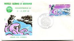 Nouvelle Calédonie - FDC Yvert PA 224 Philex France - X 1004 - FDC
