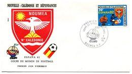 Nouvelle Calédonie - FDC Yvert PA 225 Coupe Monde Football - X 1005 - FDC