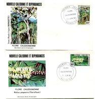 Nouvelle Calédonie - FDC Yvert 457 & 458 Flore - X 1006 - FDC