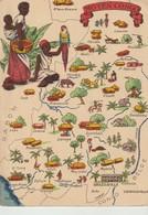 C.P. - PHOTO - CARTE ROUTIÈRE - MOYEN CONGO - 1326 S - B. D. - Congo - Brazzaville