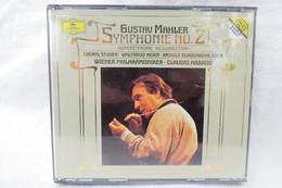 "2 CDs ""Gustav Mahler"" Symphonie No. 2, Auferstehungs-Symphonie, Resurrection, Wiener Philharmoniker, Claudio Abbado - Klassik"