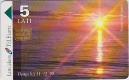#06 - LATVIA-02 - SUNSET - 5 LATI - Wit-Rusland