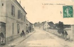 60 , BETZ , Gendarmerie , * 405 63 - France