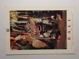 Bali, The Barong - Mythisches Wesen (gelaufen 2001),  H21 - Indonesien