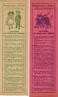 VP14.744 - MILITARIA - PARIS - Marque - Pages / BERGER - LEVRAULT Editeurs - La Guerre , Les Récits Des Témoins - Segnalibri
