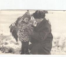 UKRAINE. #1559 A PHOTO. CHILDREN. DAD WITH GIRL. BEAUTIFUL SKIN. *** - Proyectores De Cine