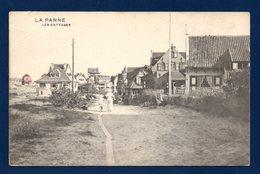 La Panne. Les Cottages. Franchise Postes Militaires Belgique 6ème Division D'Armée. Mars 1917 - De Panne
