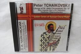 """CD """"Peter Tchaikovsky"""" Liturgy Of St. John Chrysostom, Op. 41, Vladislav Chernushenko - Chants Gospels Et Religieux"""