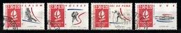 France 1991 : Timbres Yvert & Tellier N° 2676 - 2677 - 2678 - 2679 Et 2680 Avec Oblitérations Rondes. - Frankreich