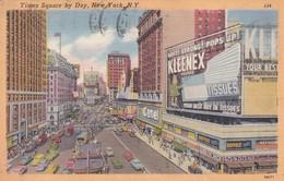 CARTOLINA - POSTCARD - STATI UNITI - TIMES SQUARE BY DAY, NEW YORK - Time Square