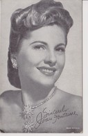 TH2100   --  JOAN FONTAINE ~~  MADE IN  U.S.A. - Actors