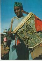 C.P. - PHOTO - TOGO - TAMBOUR EN BOIS - 7422 - IRIS - Togo