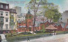 CARTOLINA - POSTCARD - STATI UNITI - THE LITTLE CHURCH AROUND THE CORNER NEW YORK - New York City