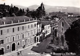 SANGEMINI (TR) - Piazza S. Francesco E Via Roma - F/G - N/V - Genova