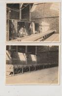 2 PHOTOS - SETE - USINE CHIMIQUE - VESTIAIRES CENTRAUX - 16/03/21 - 20/04/21 - 34 - Lieux