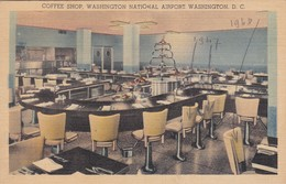 CARTOLINA - POSTCARD - STATI UNITI - COFFEE SHOP WASHINGTONNATIONAL AIRPORT WSHINGTON. D.C. - Washington DC