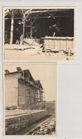 2 PHOTOS - SETE - USINE CHIMIQUE - AGRANDISSEMENT DU 4ème ATELIER SULFATE DE CUIVRE -20/04/21  - 34 - Lieux