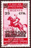 ~~~ Spanish Morocco Maroc Marruecos 1940 - 17.VIII.940 Express - Edifil 233 / Mi. 223  (o)  ~~~ - Spaans-Marokko