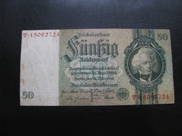 Germany Weimar Republic 50 Marks 1933 №3 - 50 Mark