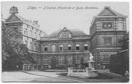 LIEGE : L'institut D'Electricité Et Le Buste Montefiore - Liege
