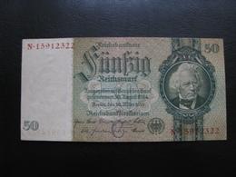 Germany Weimar Republic 50 Marks 1933 №4 UNC - 50 Mark